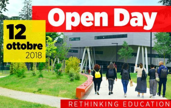 OPEN DAY Rethinking Education ▪ 12 ottobre 2018