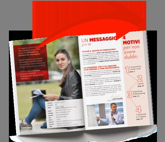 brochure master in fundraising