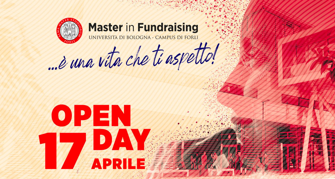 Open day Master in Fundraising Univeristà di Bologna